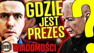 Kaczyński poszedł na mszę i ZNIKNĄŁ… co się dzieje z PREZESEM? | WIADOMOŚCI