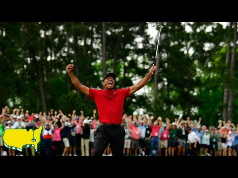 Tiger Woods: Final Putt and Celebration (2019 Masters)