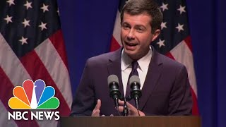 2:52 / 54:27 Watch Pete Buttigeig's First Speech On Foreign Policy And National Security | NBC News