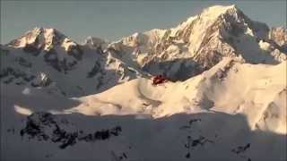 Survol du Mont Blanc en hélicoptère