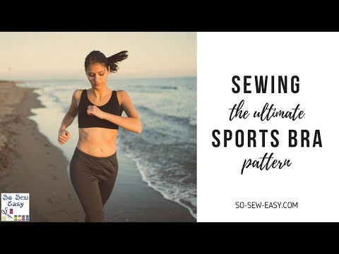 Sewing the Ultimate Sports Bra Pattern