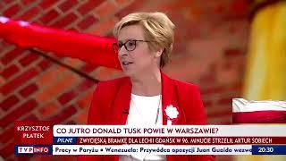 """Europosłanka PiS: """"Donald Tusk (…) to jest facet, który zawsze ma jeden cel: jątrzyć, skłócać, pogłębiać podziały""""."""