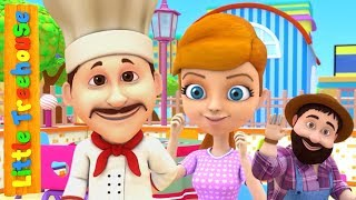 Jack Sprat | Kindergarten Songs and Videos for Babies by Little Treehouse
