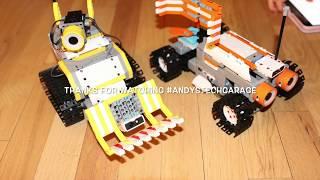 UBTECH STEM Toy Robots (Silly) Race. Jimu DigBot vs. Rover / Builderbots vs. Astrobot Kit