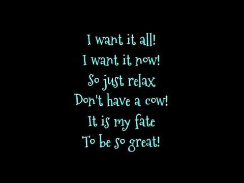 Barbie movie song: I Want it All lyrics