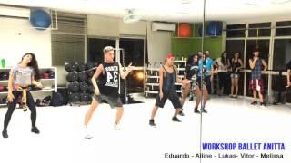 Coreografia Bang  - Ballet Anitta