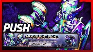 Knights and Dragons - Moonlight Fight PUSH Livestream!! SPIRIT/AIR Ardor Lenshammer Shadowforged!