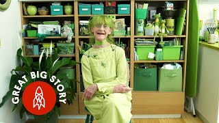 Green With Happiness: Meet the Jolly Green Lady of Brooklyn
