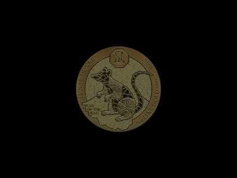 Video - 1 oz Gold Ruanda Lunar Ratte - 2020