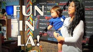 TOO MUCH EXCITEMENT IN LA! - June 01, 2014 - itsJudysLife Daily Vlog