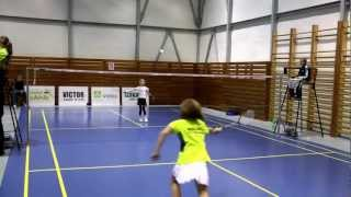 preview picture of video 'BADMINTON CZECH TALENT 2012 - Český Krumlov (radsli)'