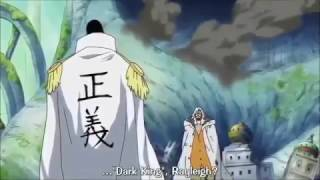 Admiral Kizaru Vs Rayleigh  One Piece Anime