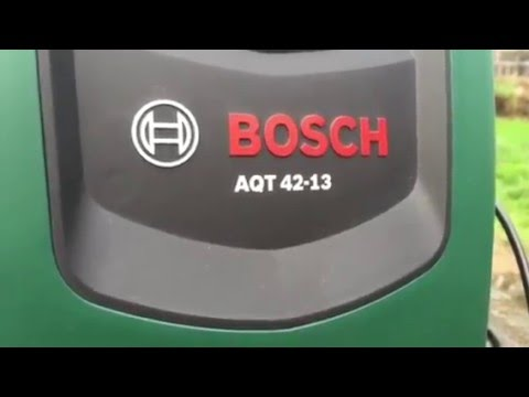 Power Washer Testing: Bosch AQT 42-13