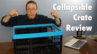 Review: Clever Crates Collapsible Crate