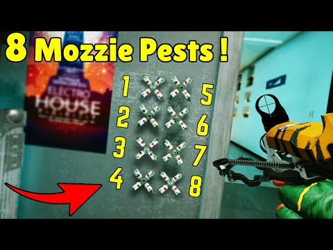 Mozzie Can Deploy Up To 8 Pests! - Rainbow Six Siege Crimson Heist