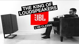 The MOST ICONIC Loudspeaker Of ALL TIME - JBL L100 Classic Review