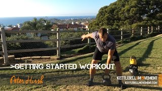 Getting Started With Kettlebells Workout by Kettlebell Movement