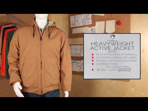 Heavyweight Active Jacket Product Video K675T