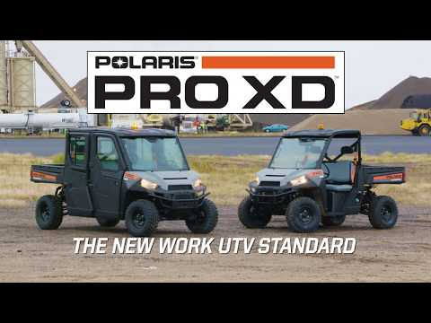 2020 Polaris PRO XD 4000G AWD in Marshall, Texas - Video 1