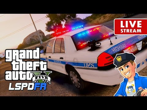 GTA 5 POLICE MOD LSPDFR LIVE Highway Speeding | Road To 5K | GTA 5 LSPDFR Realistic Police Patrol