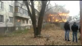 Пожар в Алматы в кафе Эвелина