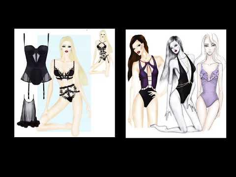 Lingerie & Swimwear Online Design Course - YouTube
