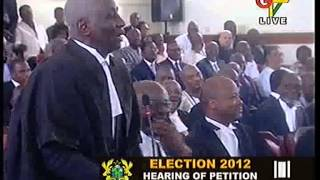 Bruhaha at Supreme Court  over NDC late filing of written address!