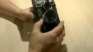 """Фотоаппарат """"Любитель-166-Универсал"""" (ЛОМО).AVI"""