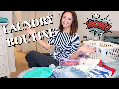 LAUNDRY ROUTINE | LAUNDRY MOTIVATION | CLEANING ROUTINE