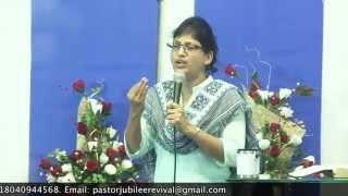 6-5-15 Bible Study  On Sanctification Series By Pastor Pramila Jeyaraj