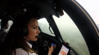 [Cockpit View] InterSky ATR72-600 VFR Valley Departure Sion (SIR/LSGS)