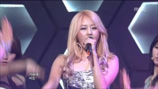 4Minute - Mirror Mirror, 포미닛 - 거울아 거울아, Music Core 20110409