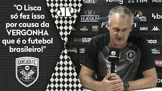 Lisca toma atitude surpreendente após Vasco 1 x 2 São Paulo