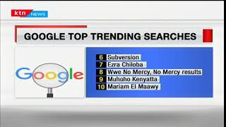 Business Today 2nd October 2017 - Top trending searches on Google Kenya