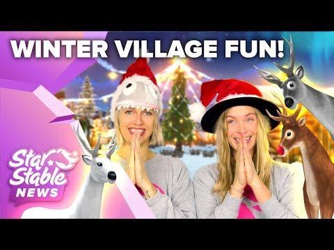 Winter Village Fun! 🎅❄️⛄️   Star Stable News