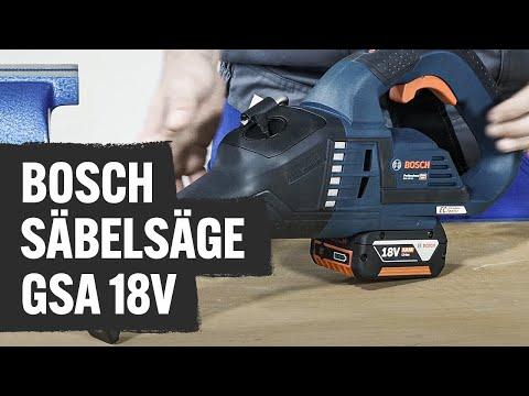 Bosch Säbelsäge GSA 18V-32 | Contorion Profi TV