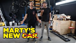 Marty's new car (is not a car)