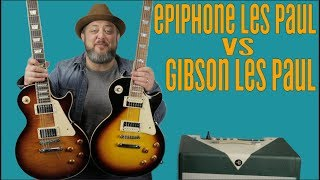 Gibson Les Paul Vs Epiphone Les Paul - Is It Worth The Money?