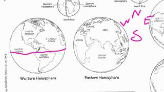 Daily Geography Week 3 - The Four Hemispheres