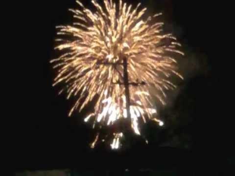 広島市立祇園小学校の有志の方により「大花火大会」が行われま