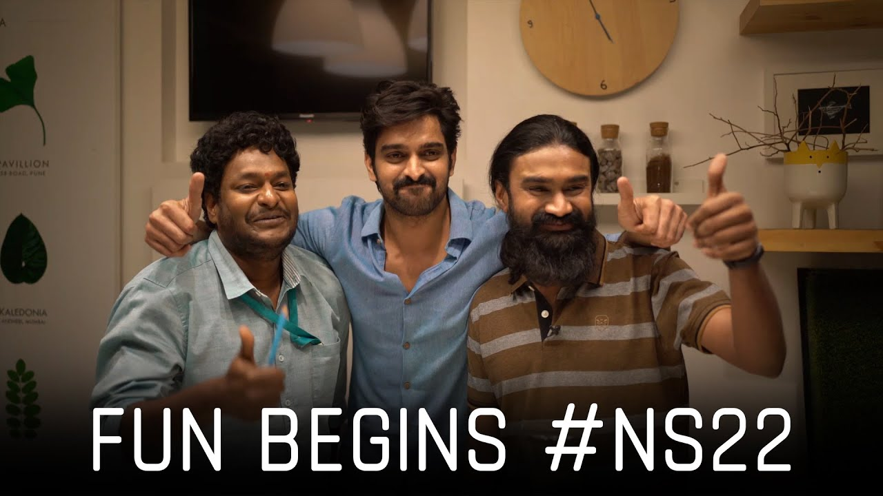 #NS22 Shoot Begins