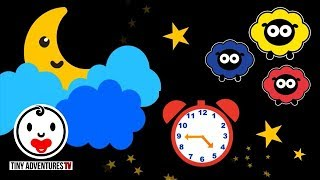 Baby Sensory - High Contrast Animation - Sleepy Time Twinkle Twinkle Little Star - Put baby to sleep