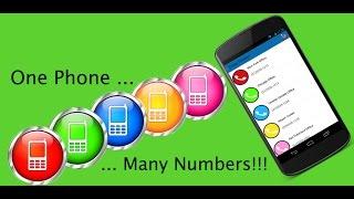 One Telephone Multiple Numbers, One phone multiple telephone numbers