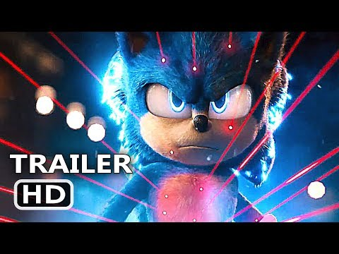 SONIC THE HEDGEHOG Official Trailer # 2 (2019) Jim Carrey Movie HD © 2019 - Paramount Comedy, Kids, Family and Animated Film, Blockbuster, Action ...