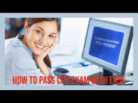 HOW TO PASS THE CPC EXAM GUARANTEE IN 2021 - PART 1 ...