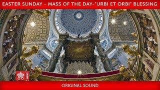 "April 12 2020 Easter Sunday - Mass of the day -""Urbi et Orbi Blessing"" I Pope Francis (1:38:09)"