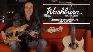 Nuno Bettencourt on the Washburn N4 at The Music Zoo