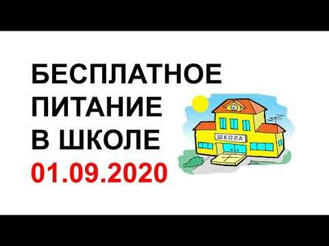 БЕСПЛАТНОЕ ПИТАНИЕ В ШКОЛЕ 2020 | Все льготы для школьников