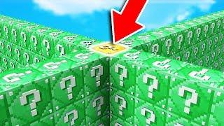 2 NOOBS vs 2 PROS REMATCH! - Emerald LUCKY BLOCK WALLS (Minecraft Mods)