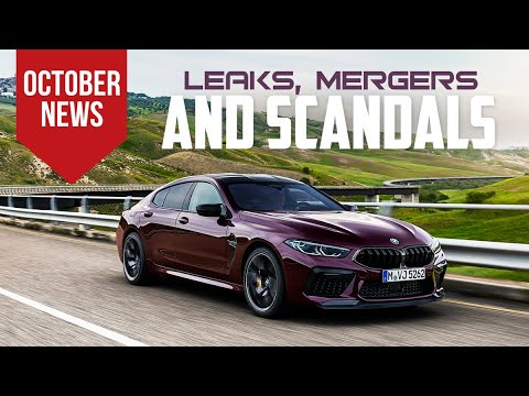 BMW Debuts 2020 M8 Gran Coupe & More Car News for October 2019